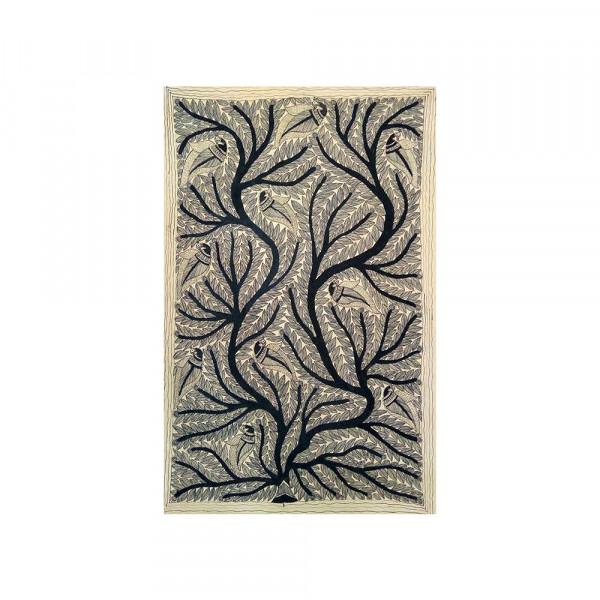 Texture Madhubani painting