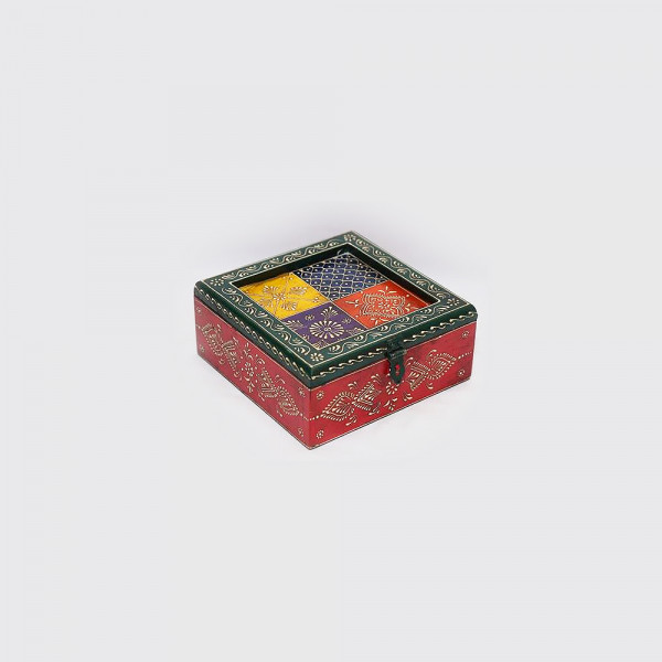 Hand Painted Dry Fruit Box