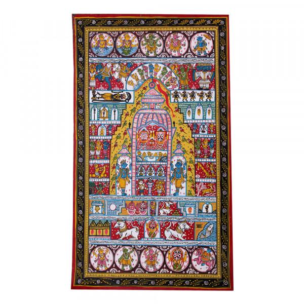 Pattachitra Painting- Jagannath Yatra Patti
