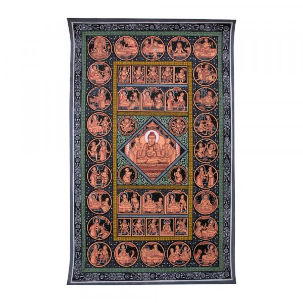 Pattachitra Painting- Gautam Buddha Story
