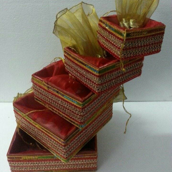 Paper Gift box (Set of 5)