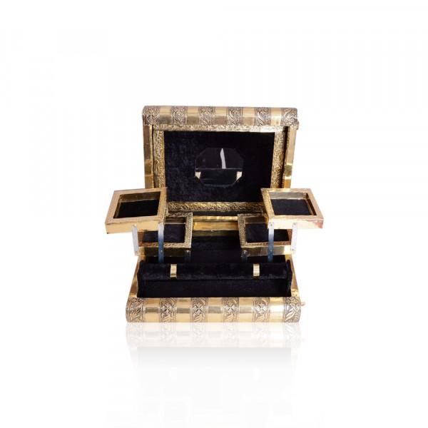 Rexine and Aluminium laminated Wooden Gift Box Set of  100