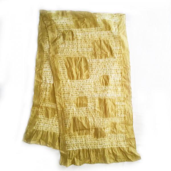 Silk Shibori Stole