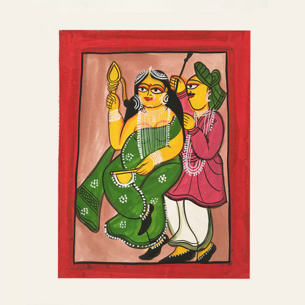 Pattachitra Painting : Married Couple