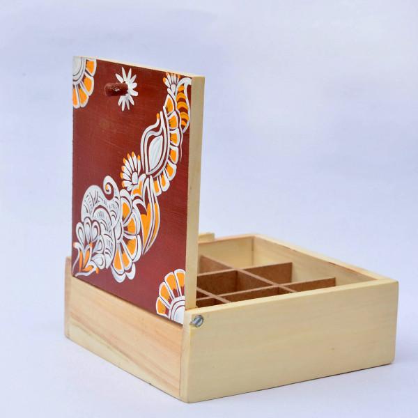 Chowk Art trinket box
