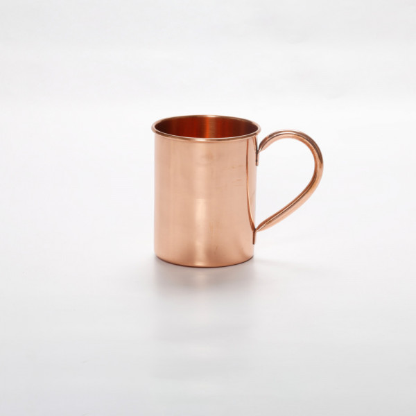 Pure copper Straight mug plain