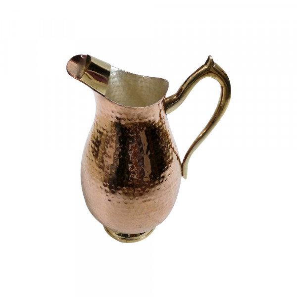 Pure copper water pitcher