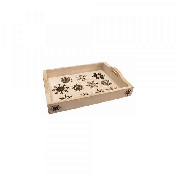 MDF serving tray. Length- 14 inches