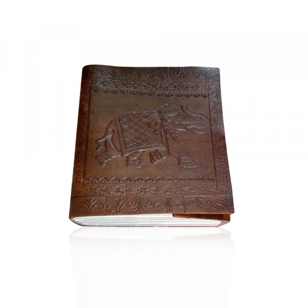 Camel Leather Notebook Cover