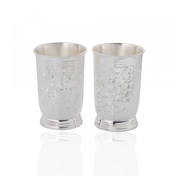 Sat Brass Novelties 2 pcs cold drink glass