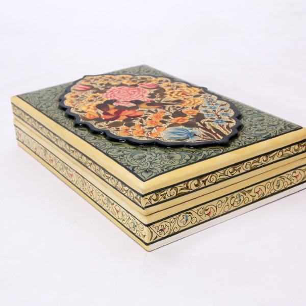 Hands of Gold Paper Mache Gul-e-vilayat-Double layer