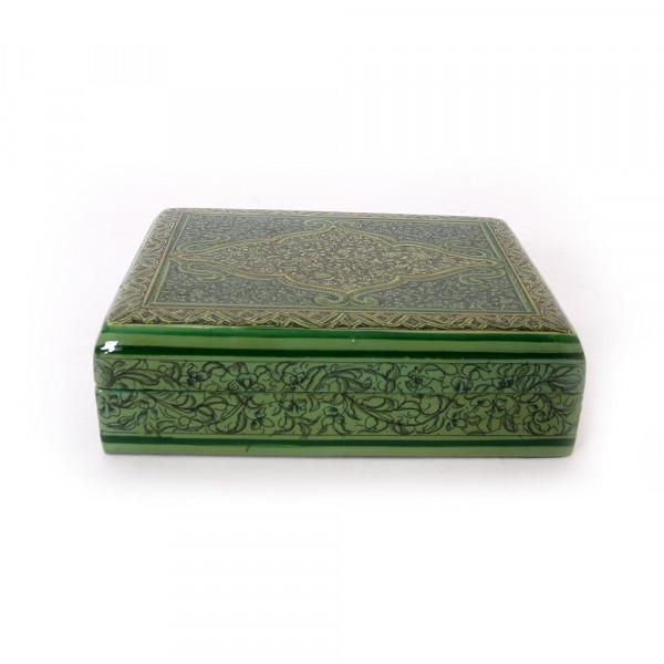 Hands of Gold Paper Mache Flat box - Raizkaar design