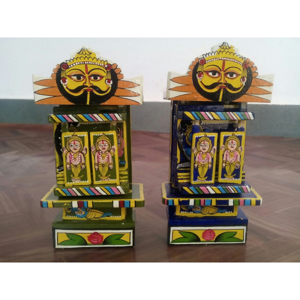 Ram and Krishna Kavad Set of 2
