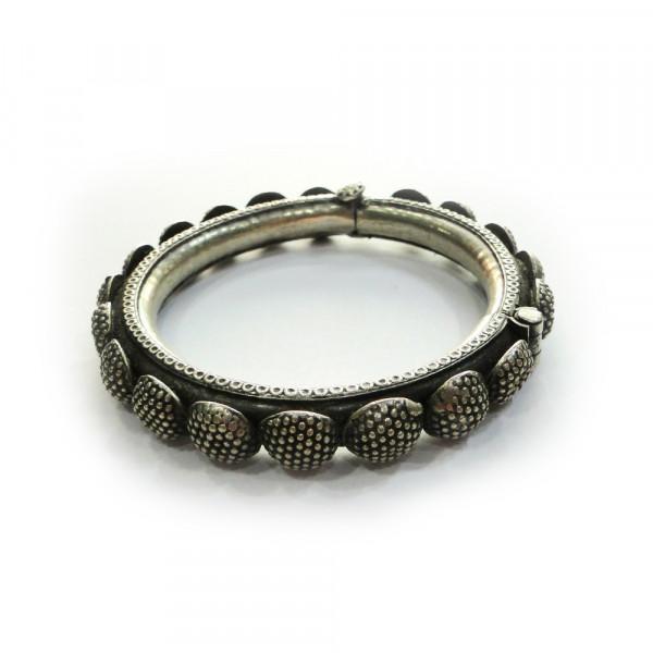 Antique ethnic tribal old silver bracelet