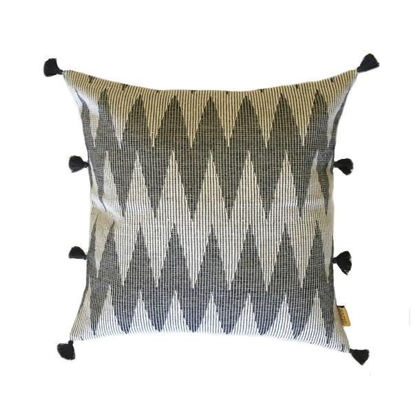 Varrsha Weave Chevron Ikat Cushion cover